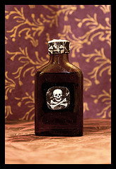 poison bottle like antibiotics